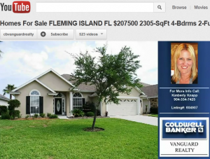 you tube virtual tour real estate listing video for coldwell banker vanguard realty