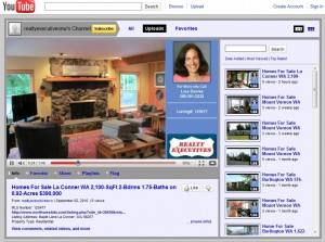 real estate listing video on You Tube for realty executives brio in bellevue, wa